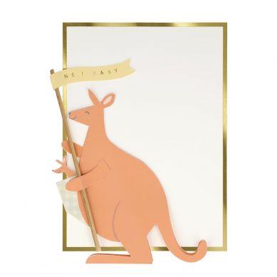 Meri Meri - Kartka Okolicznościowa 3D Kangur