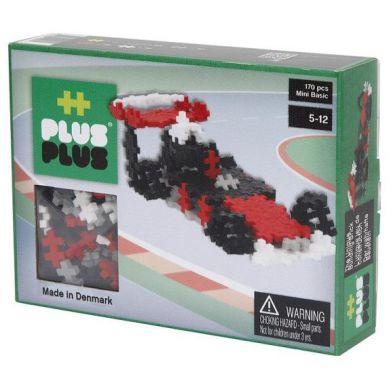Plus Plus - Klocki Mini Basic 170 Wyścigówka