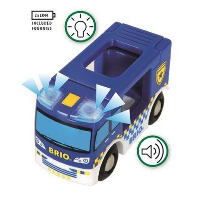 BRIO - World Wóz Policyjny z Dźwiękiem