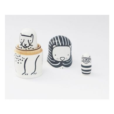 Wee Gallery - Matrioszki Cats Big&Small
