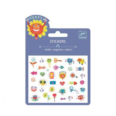 Djeco - Naklejki Symbole