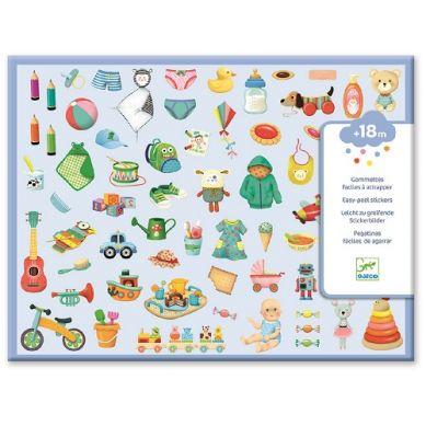 Djeco - Zestaw 300 Naklejek Mój Mały Świat