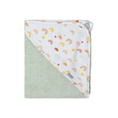 Bebe-Jou -  Ręcznik z Kapturkiem Rainbow Sky 85x75cm