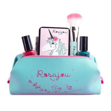 Rosajou - Kosmetyczka/Saszetka dla dzieci Zielona