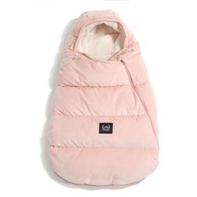 La Millou - Śpiworek Zimowy S Aspen Winterproof Velvet Collection Powder Pink