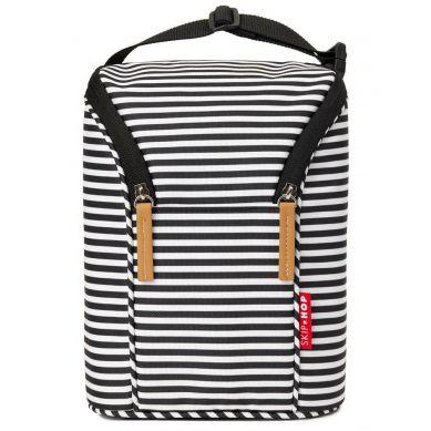 Skip Hop - Etui na Butelki Black/White Stripe