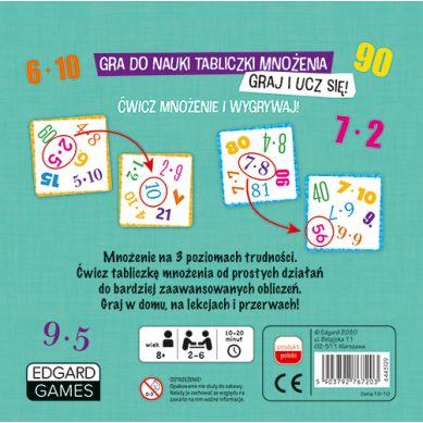 Edgard Games - Gra do Nauki Tabliczki Mnożenia Bójka na Mnożenie 8+