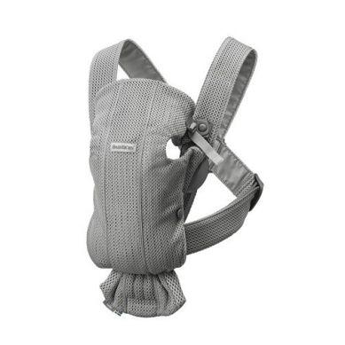 BabyBjorn - Nosidełko Mini 3D Mesh Szary