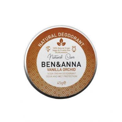 Ben and Anna - Naturalny Dezodorant w Kremie Vanilla Orchid Aluminiowa Puszka