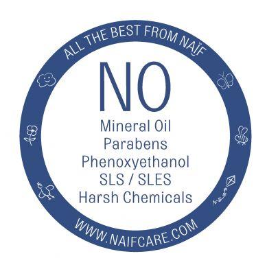 Naif - Oczyszczający Żel do Mycia dla Niemowląt 100% Naturalny MINI, 15 ml