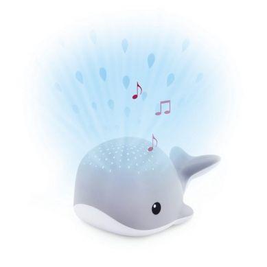 Zazu - Wally Projektor Wieloryb Grey