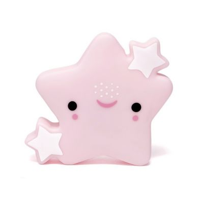Petit Monkey - Lampka Star Pink