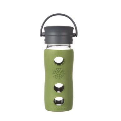 Lifefactory - Butelka Szklana na Gorące Napoje 350ml Sage