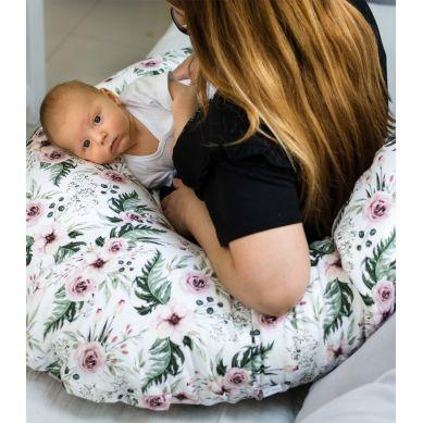 Muzpony - Wielofunkcyjna poduszka dla kobiet w ciąży i do karmienia Magnolia