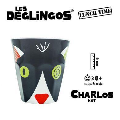 Les Deglingos - Kubek z Melaminy Kot Charlos