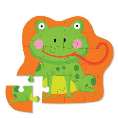 Crocodile Creek - Puzzle Podłogowe 12el Głodna Żaba