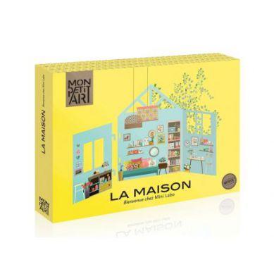 Mon Petit Art - Teatrzyk 3D La Maison Mini Labo