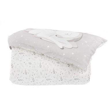Effiki - Pościel Sarenki Biel Małgosia Socha 100 x 140