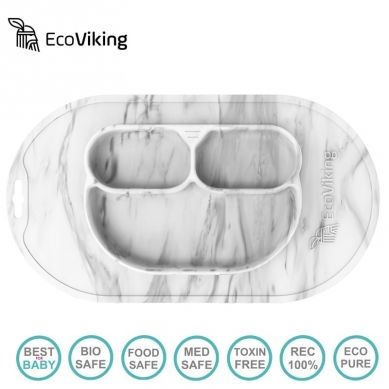 Eco Viking BLW 4 in 1 Eating Helper Owl Murble