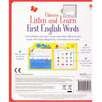 Wydawnictwo Usborne Publishing - Listen & Learn First English Words