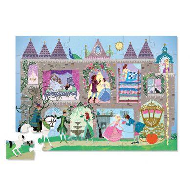 """Crocodile Creek - Puzzle z Figurkami Motyw """"Pałac Księżniczek"""""""