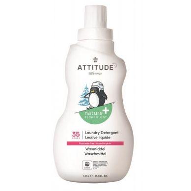 Attitude - Płyn do Prania Ubranek Dziecięcych Bezzapachowy Fragrance Free 35 prań 1050 ml