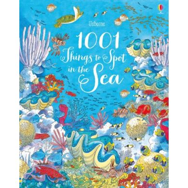 Wydawnictwo Usborne Publishing - 1001 things to spot in the sea