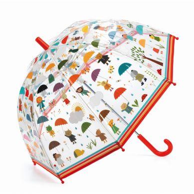 Djeco - Parasol Przeciwdeszczowy W Deszczu