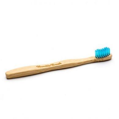 Humble Brush - Bambusowa Szczoteczka do Zębów dla Dzieci UltraSoft Niebieska