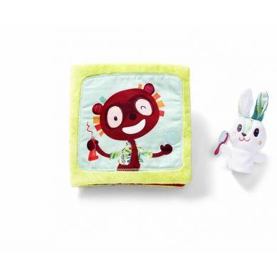 Lilliputiens - Książeczka Wielofunkcyjna Little Rabbit Dentist 0m+