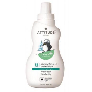 Attitude - Płyn do Prania Ubranek Dziecięcych Gruszkowy Nektar Pear Nectar 35 prań 1050 ml