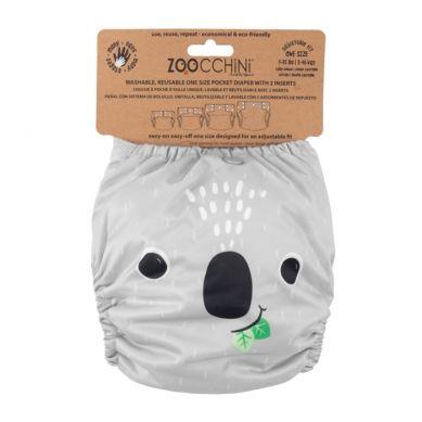 Zoocchini - Pieluszka Wielorazowa AIO z 2 Wkładami Koala