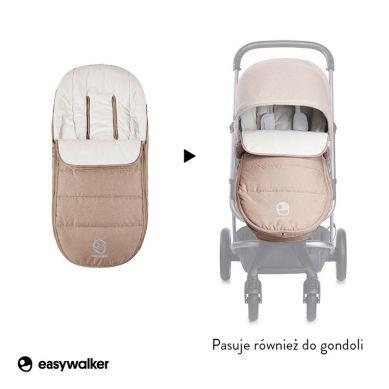 Easywalker - Harvey Śpiworek do Wózka na Zimę Uniwersalny Soft Caramel