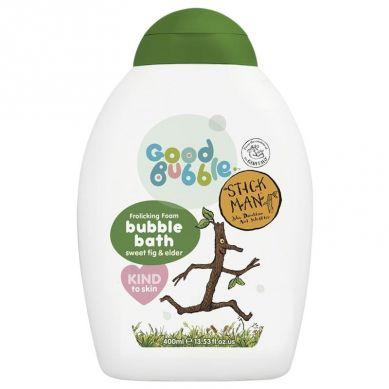 Good Bubble - Organiczny Płyn do Kąpieli Noworodka i Niemowlaka Sweet Fig & Elder 400 ml