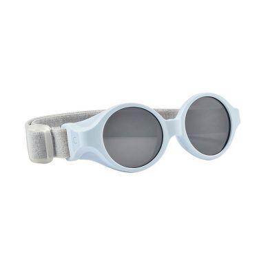 Beaba - Okulary Przeciwsłoneczne dla Dzieci z Elastyczną Opaską 0-9 Miesięcy Pearl Blue