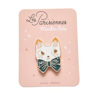 Moulin Roty - Przypinka Emaliowana Kot