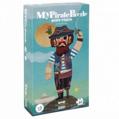 Londji - Dwustronne Puzzle My Pirate