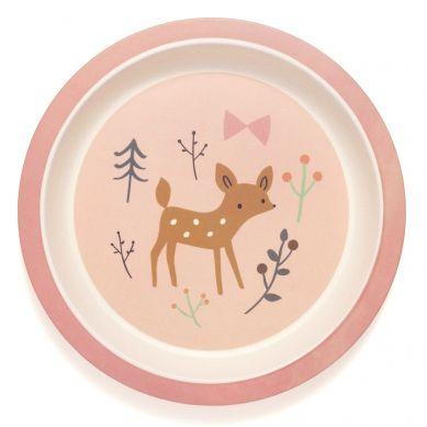 Petit Monkey - Talerz Bambusowy Baby Deer