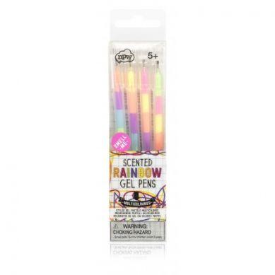 NPW ROW - Zestaw 4 Żelowych Kolorowych Długopisów Rainbow