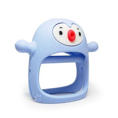 Smily Mia - Gryzak Silikonowy Pingwin Light Blue