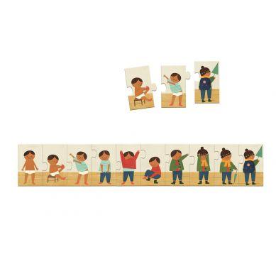 Djeco - Puzzle Ubieram Się