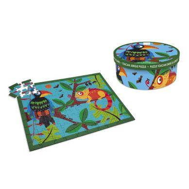 Scratch - Puzzle Tukany 100 szt.