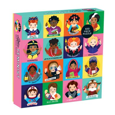 Mudpuppy - Puzzle Rodzinne Niezwykłe Kobiety 500 Elementów