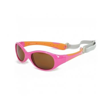 Koolsun - Okularki dla Dzieci Flex Hot Pink Orange 0-3 lat