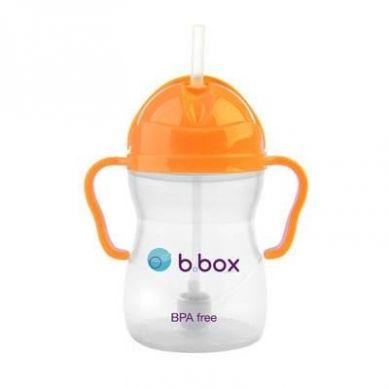 B.Box - Innowacyjny Kubek Niekapek Neon Pomarańczowy