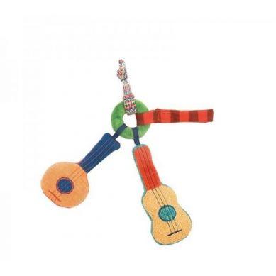 Moulin Roty - Grzechotka Materiałowa Gitara 0m+