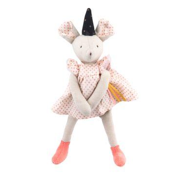 Moulin Roty - Pluszowa Myszka Wróżka Różowa