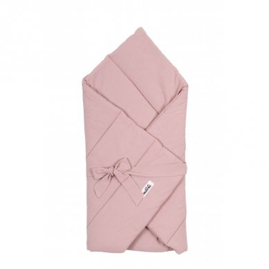 Malomi Kids - Kołderka S Rożek Niemowlęcy Washed Pink