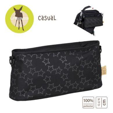 Lassig - Organizer do Wózka Casual Label Reflective Star black