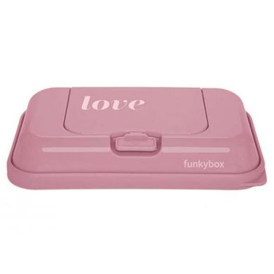 Funkybox - Pojemnik na Chusteczki To Go Vintage Pink Love